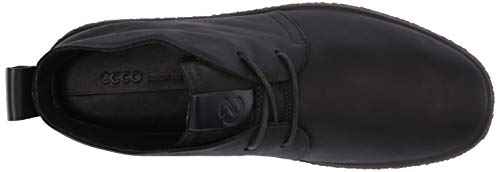 Black Crepetray 2001 Chukka Schwarz Femme Ladies Boots Ecco 8qYwPTW