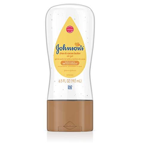 Johnson & Johnson Baby Oil Gel, 6.5 Ounce (Baby Soft Oil Gel)