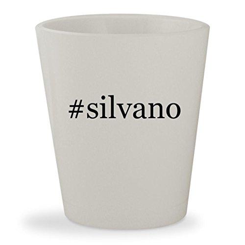 #silvano - White Hashtag Ceramic 1.5oz Shot - Silvano Sunglasses Wood