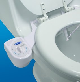 Ambient Water Temperature self-cleaning nozzle attachable bidet