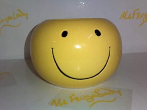 Adorable Smiley Face/Happy Face Planter/Candy Dish ()