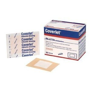 BSN Medical 7801000  COVERLET® BANDAGE FABRIC 4INX2.75IN (Coverlet Fabric Shapes Patch)
