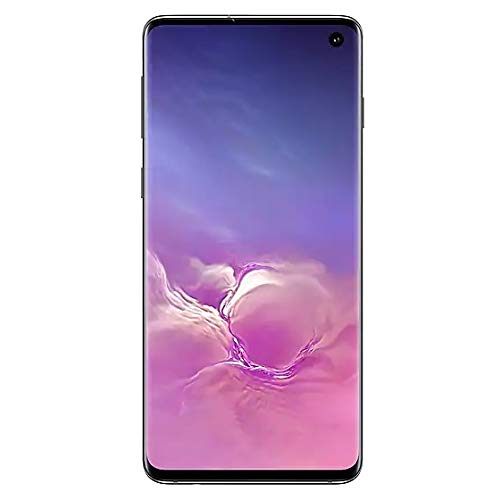 "Samsung Galaxy S10 128GB+8GB RAM SM-G973F/DS Dual Sim 6.1"" LTE Factory Unlocked Smartphone (International Model) (Prism Black) from Samsung"