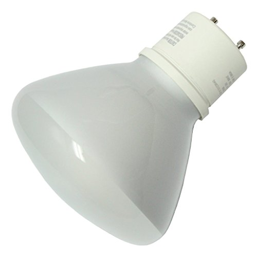 TCP 33123R40 CFL Covered Reflector R40 - 120 Watt Equivalent (Only 23w used!) Soft White (2700K) Flood Light Bulb - GU24 Base ()