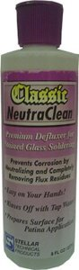Stellar NeutraClean Flux Remover for Stained Glass Work