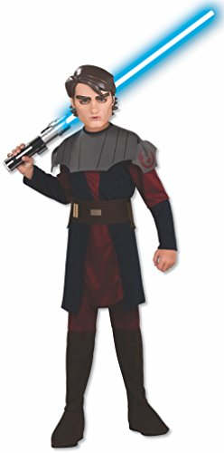 Rubie's Star Wars Clone Wars Child's Anakin Skywalker Costume and Mask, Large -