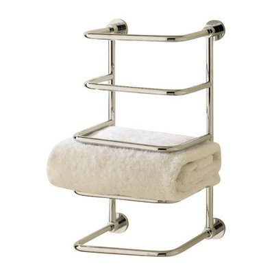Essentials Freestanding 4 Tier Towel Stacker Finish: Polished Nickel -