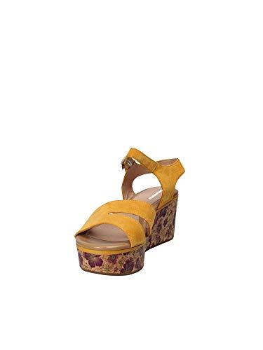 Wedge 110283 Women Sandals Stonefly 40 Yellow zgfUq