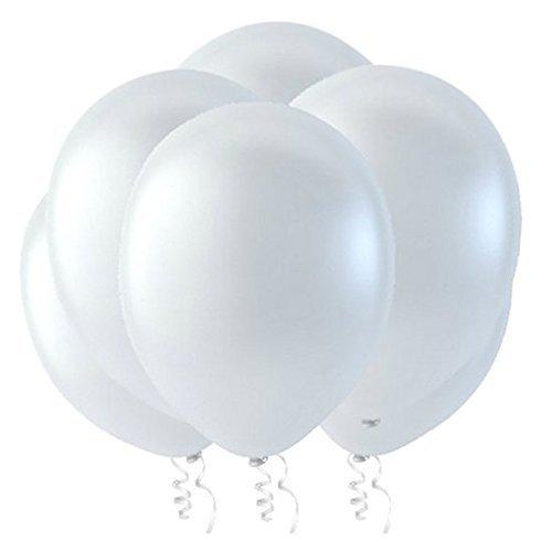 White Balloon Pastel - Creative Balloons Celebrity 9