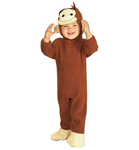 Curious George Monkey Costume, 6-12