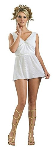 [Women's Adult Grecian Goddess Costume Dress Size Medium 10-12] (Roman Goddess Costume Pattern)