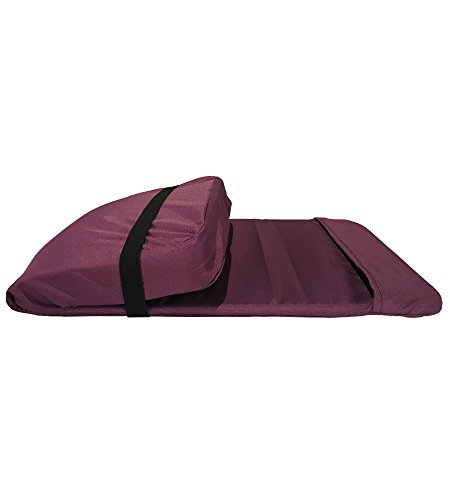 Folding Back Jack Meditation Chair (Original BackJack Chairs) (Tuff Duck Material) (Purple)