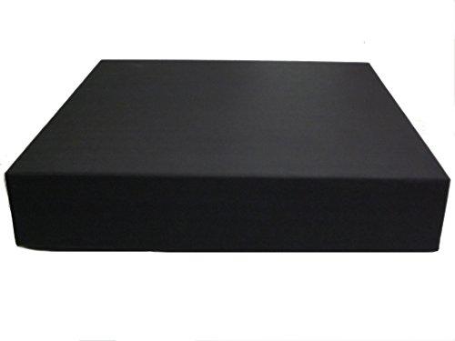 Showoff Albums 10X10 ALBUM BOX/GIFT BOX (2.5'' DEPTH), BLACK (SET OF 12) by Showoff Albums