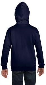 Navy Hanes Full Zip Hoodie Sweatshirt P480 XL