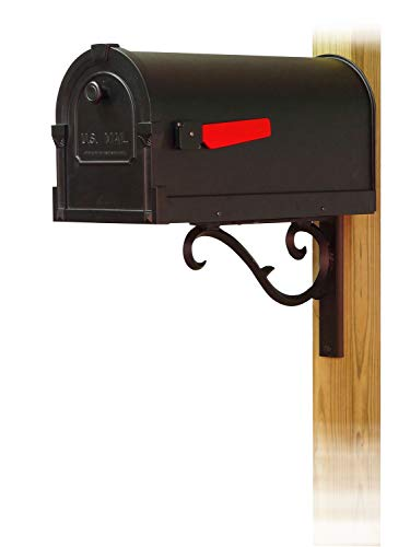 - Special Lite Products Company Savannah Curbside Mailbox with Sorrento Front Single Mailbox mounting Bracket