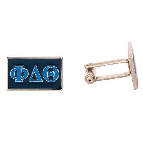 Phi Delta Theta Fraternity Letter Cufflinks Greek Formal Wear Phi ()