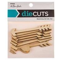 Wood Die Cut - Wood Arrow Die Cuts (Pack of 8)