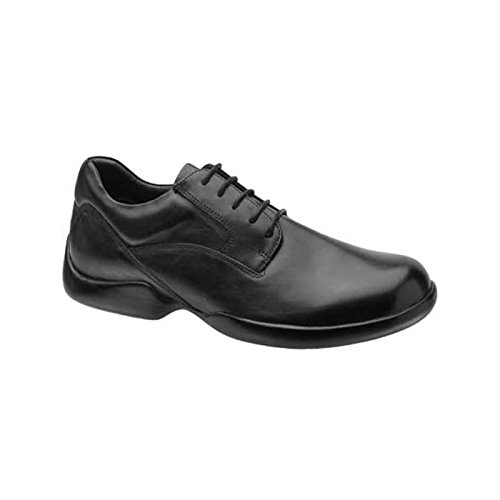 Aetrex Men's G501 Lace-Up Plain Toe,Black,12.5 XW (Aetrex Black Oxford)