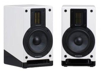 ScanSonic M5 BTL. Wireless Bluetooth Bookshelf Speakers (White)