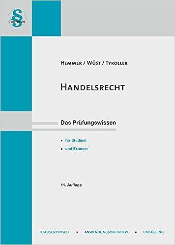 HANDELSRECHT SKRIPT PDF DOWNLOAD