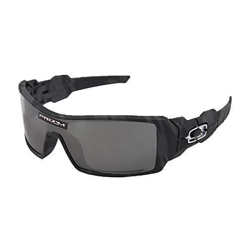 Oakley Oil Rig Sunglasses Black Camo/Prizm Black Lens