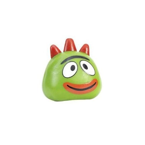 Basic Fun - Yo Gabba Gabba Squishy Pal - BROBEE (3 inch)