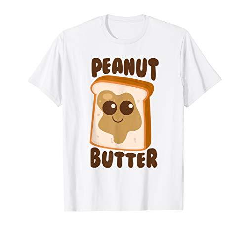 Peanut Butter Matching Halloween Costume Set DIY Jelly Shirt]()