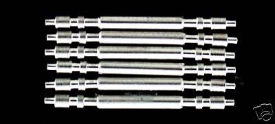 3セットスプリングバーS / S for Rolex大統領20 mm Lugsパーツ B007XIZM14