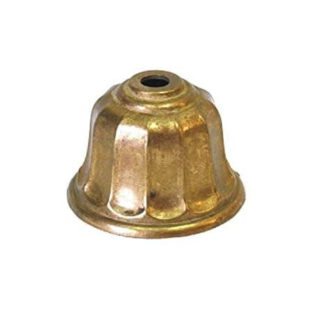 Tapa pie acabado en bronce 65mm diámetro para lámparas ...