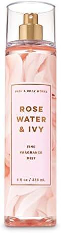 Bath & Body Works ROSE WATER & IVY Fine Fragrance Mist 8 fl oz / 236 mL