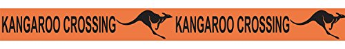 Kangaroo Crossing Poly Decorating Material Party Accessory (1 count) - Store Kids Australia