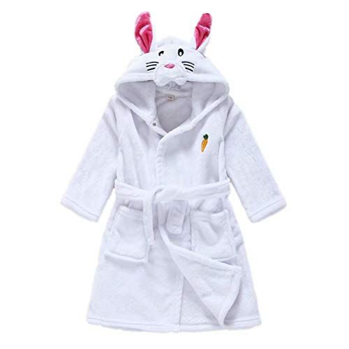 Children Soft Hooded Robe Theme Party Costume Robe