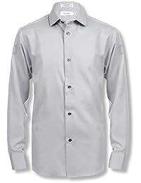 Boys' Long Sleeve Sateen Dress Shirt