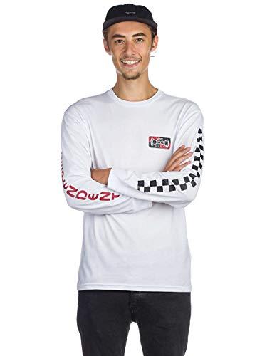 ong Sleeve Tee (White) Men's Graphic Skate Shirt ()