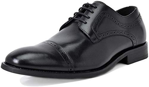 Bruno Marc Men's Oxford Dress Shoes Wingtip Genuine Leather Formal Shoes