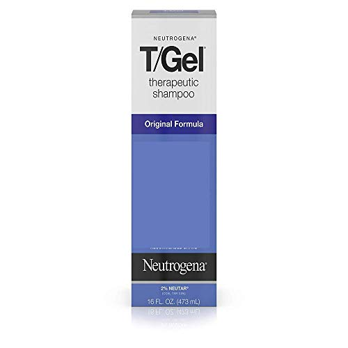 Neutrogena T/Gel Therapeutic Shampoo Original Formula, Anti-Dandruff Treatment for Long-Lasting Relief of Itching and Flaking Scalp as a Result of Psoriasis and Seborrheic Dermatitis, 16 fl. oz ()