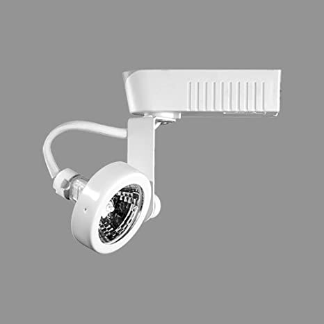 et401 gimbal ring low voltage track lighting with integral