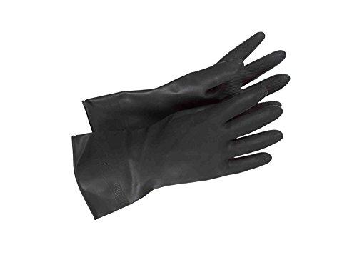 Used Stormtrooper Costumes (Accurate Star Wars Stormtrooper Bikerscout Black Flock Lined Diamond Grip Latex Gloves)