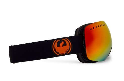 Dragon Alliance APXs Jet Goggles (Black, Red Ion/Yellow Blue Ion), Outdoor Stuffs