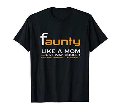(Funny Aunty Faunty Definition and Halloween)