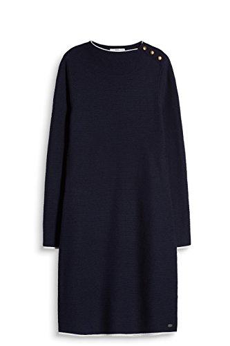 ESPRIT Blau edc Kleid Navy Damen 400 by WOqZgBnF