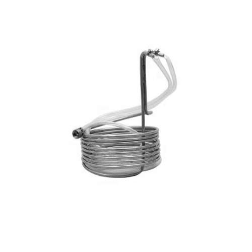 Krome Standard Wort Chiller With Garden Hose Fittings (Stainless Steel)-C281