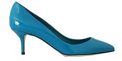 Dolce & Gabbana Blue Patent Leather Pumps