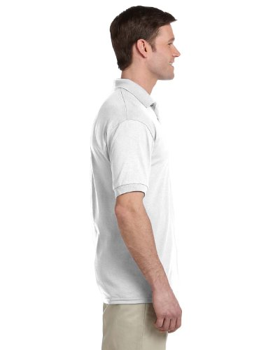 gildan-mens-short-sleeve-polo-pocket-jersey-white-medium