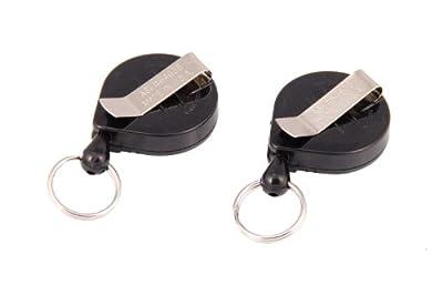Boomerang Fishing Zinger Duo, 36 inch Nylon Cord, Split Ring, Clip Attachment