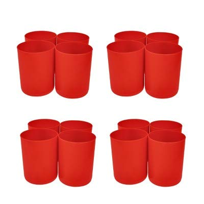 16ct Red Storage Cups Red - Bullseye's Playground153; Red by bullseye's playground