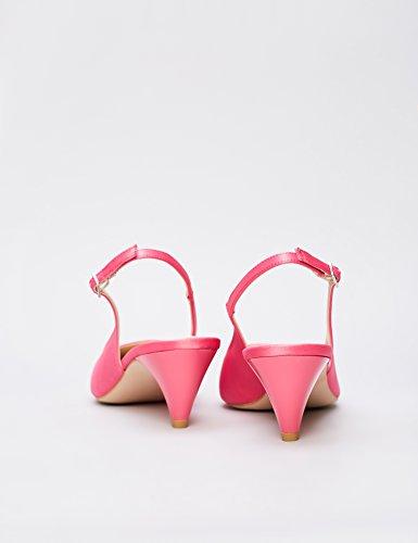 008 FIND Punta a Cinturino Scarpe Pink Rosa Hot Donna con zqHw6nzv