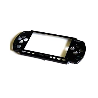 Carcasa delantera para PSP Fat 1000, color negro: Amazon.es ...