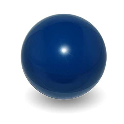 Flames N Games Practice Contact Ball + Suede Bag - Pro Contact Balls for All Abilities. Available in 3 Sizes and 5 Colours!! (Blue, 100mm): Toys & Games