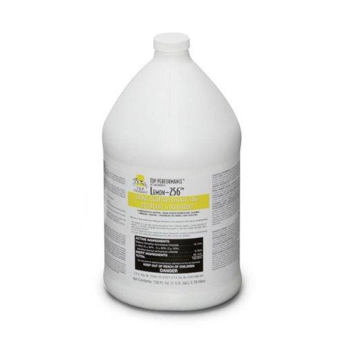 Top Performance 256 Disinfectant and Deodorizer, Lemon, 1-Gallon (Performance Patios)